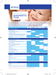 DIAGNOSTIC TOOL - Nutricia Early Life Nutrition