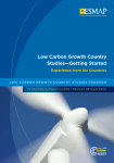 Low Carbon Growth Country Studies—Getting Started