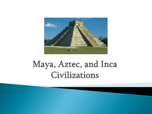 Mayan civilization was grouped by city
