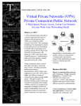 What is a VPN? A VPN (Virtual Private Network) is a private