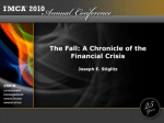 A Chronicle of the Financial Crisis