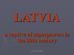 a Captive of Superpowers in the 20th Century