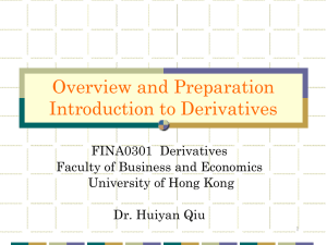 Lecture Notes_Chapter 1 - the School of Economics and Finance