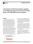 Automated In-Needle Derivatization Applying a User