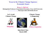 Climatic Change - Department of Agricultural Economics