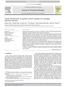 Timely identification of optimal control strategies for emerging