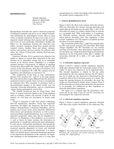 """Bioimpedance"". In: Encyclopedia of Biomedical Engineering"