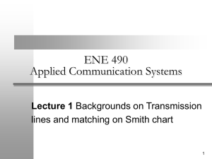 ENE 429 Antenna and Transmission Lines