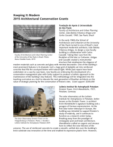 Keeping It Modern 2015 Architectural Conservation Grants