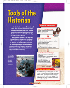 Tools of the Historian JAT2005
