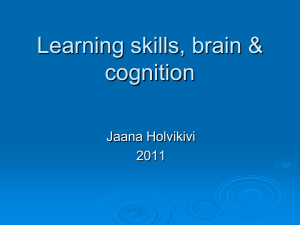 Learning skills - Personal web pages for people of Metropolia