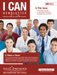 NEWSLETTER - Texas Oncology