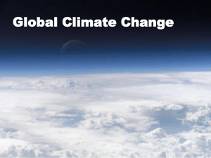 Global Climate Change - Worth County Schools
