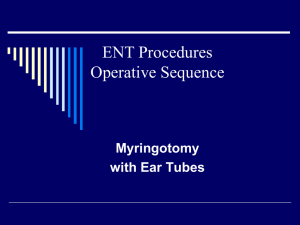 GI Endoscopic Procedures Operative Sequence - A