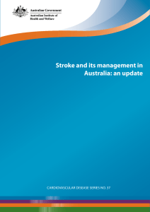 Stroke and its management in Australia