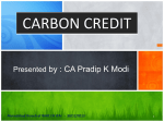 Carbon Credit 30 Dec 2013