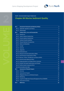 Chapter B4 - Marine Sediment Quality