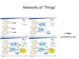 Networks of `Things`