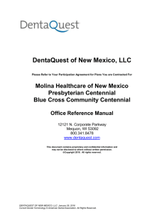 DentaQuest of New Mexico, LLC
