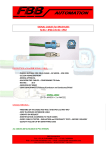 SIGNAL CABLES for BRUSHLESS RJ 45 – IP20 / RJ 45 – IP67