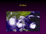 Global warming: El Nino
