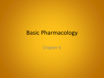 Ch. 6-Basic Pharmacology - NAC / CNA Certification Spokane