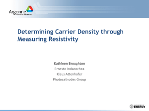 Resistivity Measurement