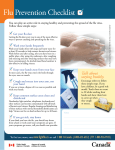 Flu Prevention Checklist