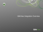 QlikView Integration Overview