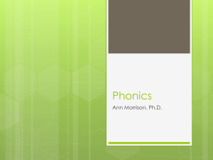Phonics - makelearninghappen.com