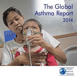 The Global Asthma Report 2014