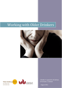 Working with Older Drinkers