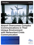 Airport Overcomes Complex Communications in Their Unique