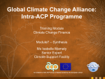 Module 7 - Synthesis - Global Climate Change Alliance