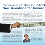 Expansion of Section 340B Raises New Questions for Cancer