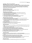 2007 Exam 3 Study Guide - University of Arizona | Ecology and