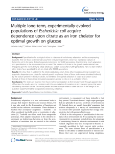 Multiple long-term, experimentally