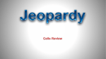 Cells Jeopardy Review