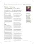 Digital marketing - why it adds up to great investment
