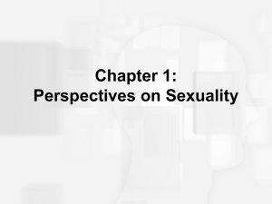 What is Sexuality? - Donna Vandergrift