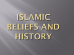 islamic beliefs and history