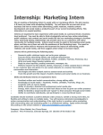 Marketing Intern - Micro Metals, Inc.