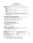 Mathematical Relations Summary 2 Mathematical relations: lines