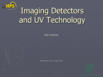 Imaging detectors and UV technology