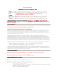 Resource Utilization Letter Template