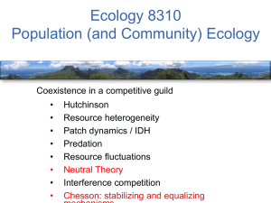 PPT - Ecology Courses