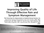 pain management in the terminally ill