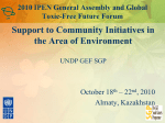 GEF Country Dialogue Workshop