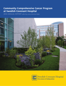 Community Comprehensive Cancer Program at Swedish Covenant