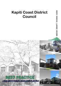 Medium Density Housing - Kapiti Coast District Council